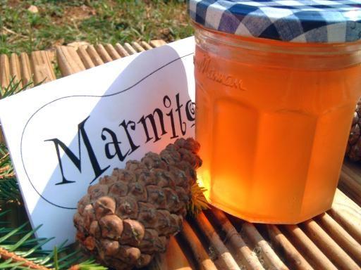 Confiture de bourgeons de sapin - Recette de cuisine Marmiton : une recette