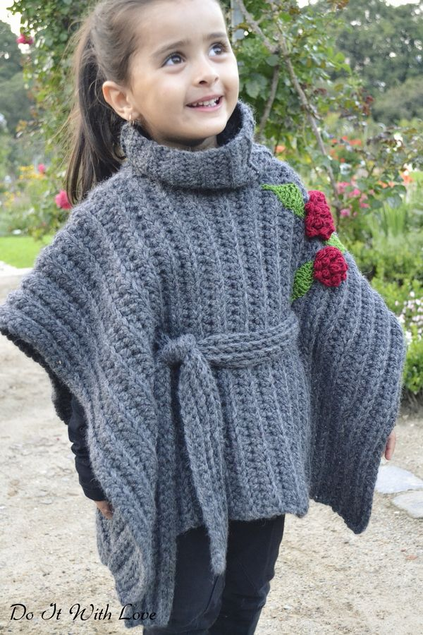 96 best Poncho images on Pinterest | Ponchos, Strick und Umhänge