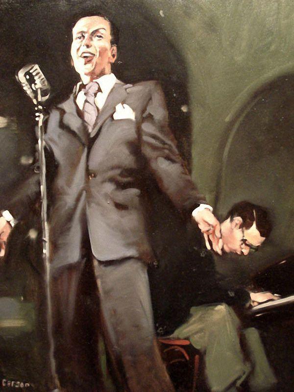 Michael Carson 美国画家 - 守着骨头 - 坚守着守望的博客