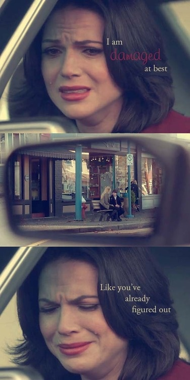 OUAT- Regina Mills <3 I love how every character has a story that shows why they are the way they are!