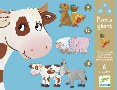 Djeco / Giant Puzzles, Daisy and Her Friends >>> You can find out more details at the link of the image.