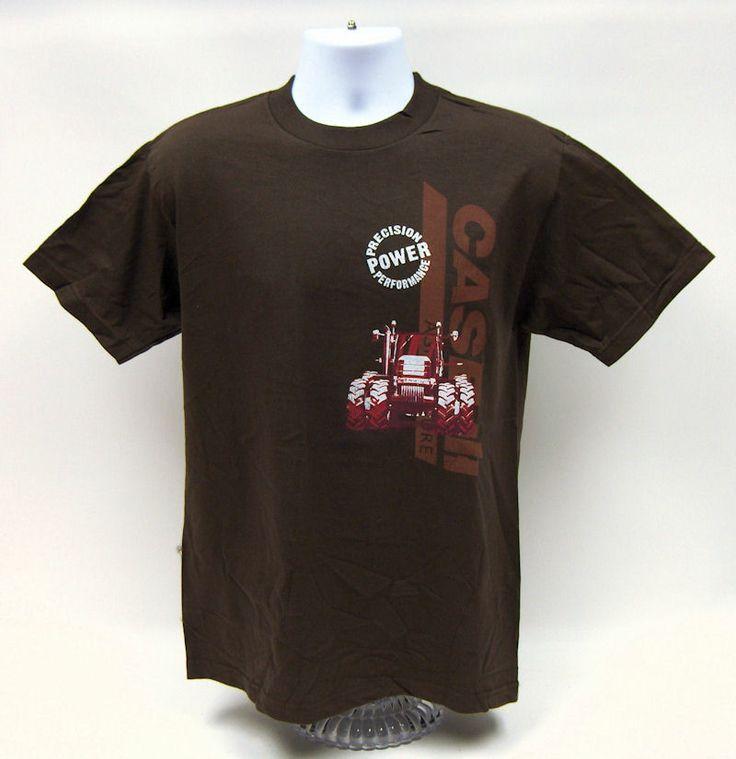 CaseIH Magnum & Logo Brown Tee Shirt