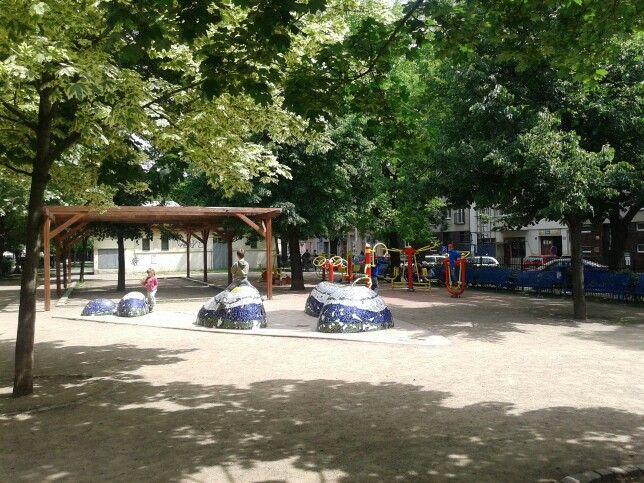 Hřiště před školou Tusarova