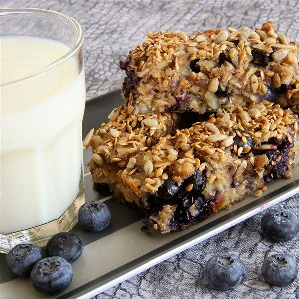 "Blueberry Banana Breakfast Bars I ""Delicious and versatile ..."