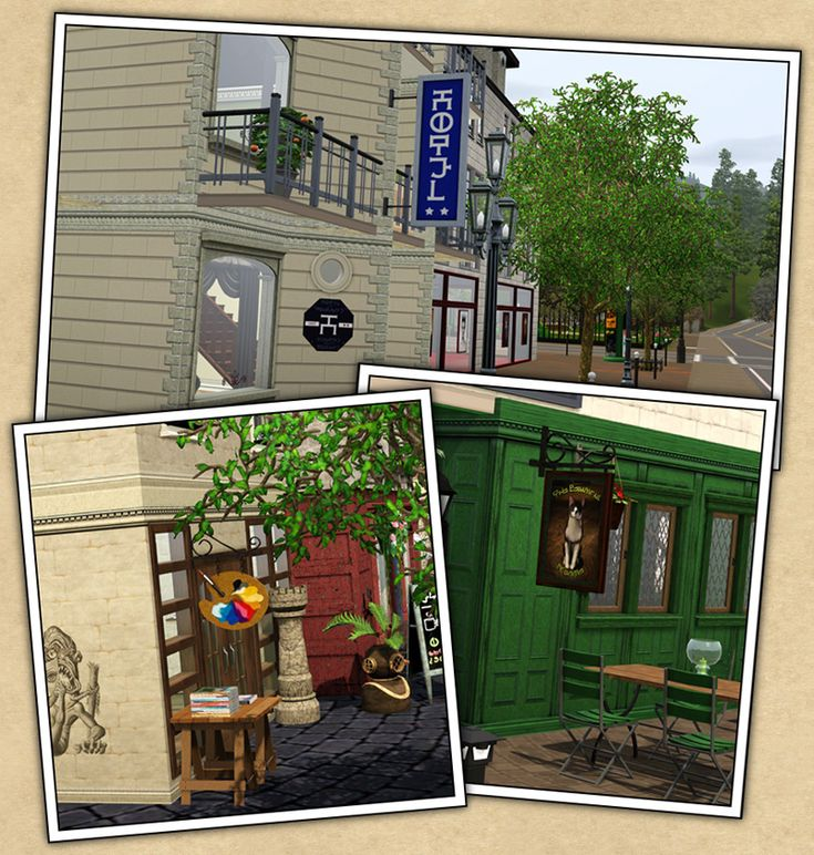 Around The Sims 3 | Downloads | Objects | Shop Signs