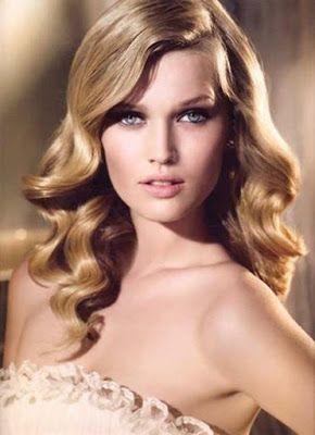 La moda en tu cabello: Peinados con ondas al agua para fiestas de año nuevo 2015/2016