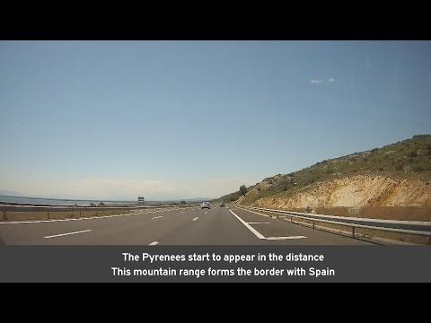 France: A9 Narbonne - Perpignan - YouTube