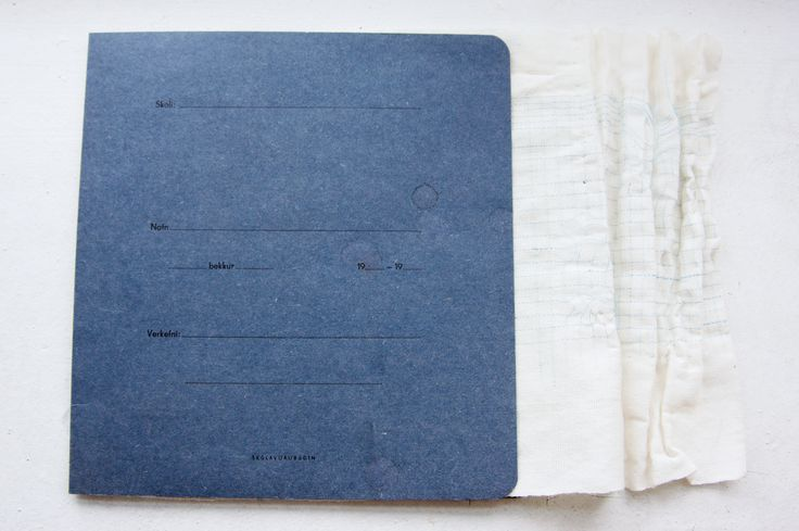 Skoli - feuille quadrillée en shibori - Katarin Laruelle