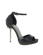 Carvela Grenade Studded Back Peep Toe Shoes  www.asos.com