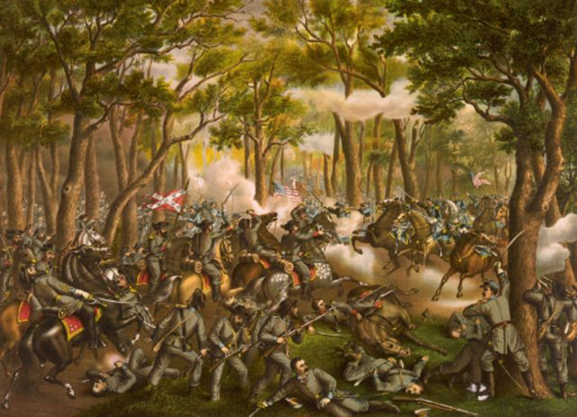 The Battle of the Wilderness was fought May 5-7, 1864, and was the opening battle of Lt. Gen. Ulysses S. Grant's Overland Campaign.