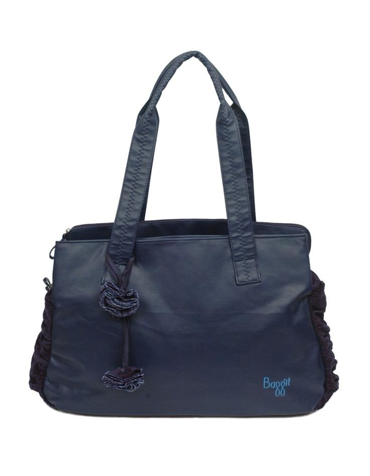 Subtle yet floral-feminine bag by Baggit.