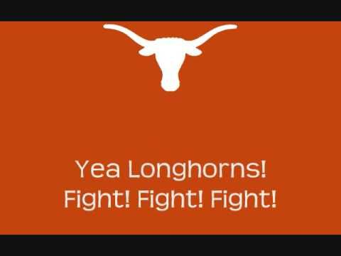 University of Texas Longhorns - fight song with words - Texas Fight
