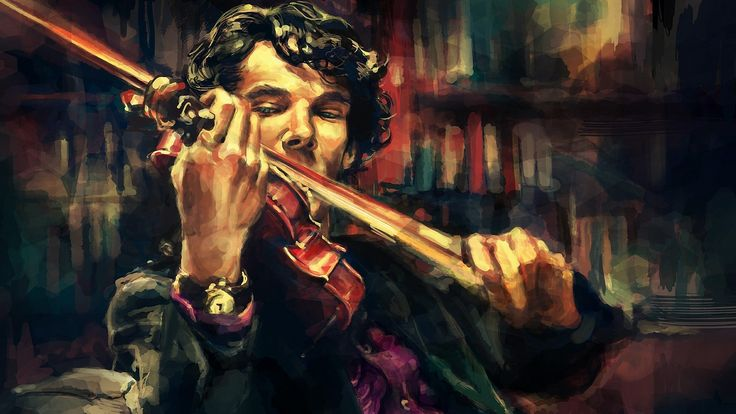 Sherlock BBC, Violin and BBC on Pinterest