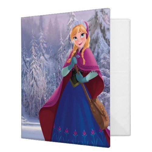 Anna 1 binder  Disney Frozen Products  https://www.artdecoportrait.com/product/anna-1-binder-2/  #Frozen #Anna #Disney #DisneyPrincess #Princess More Disney Gifts Ideas Here : www.artdecoportrait.com/shop