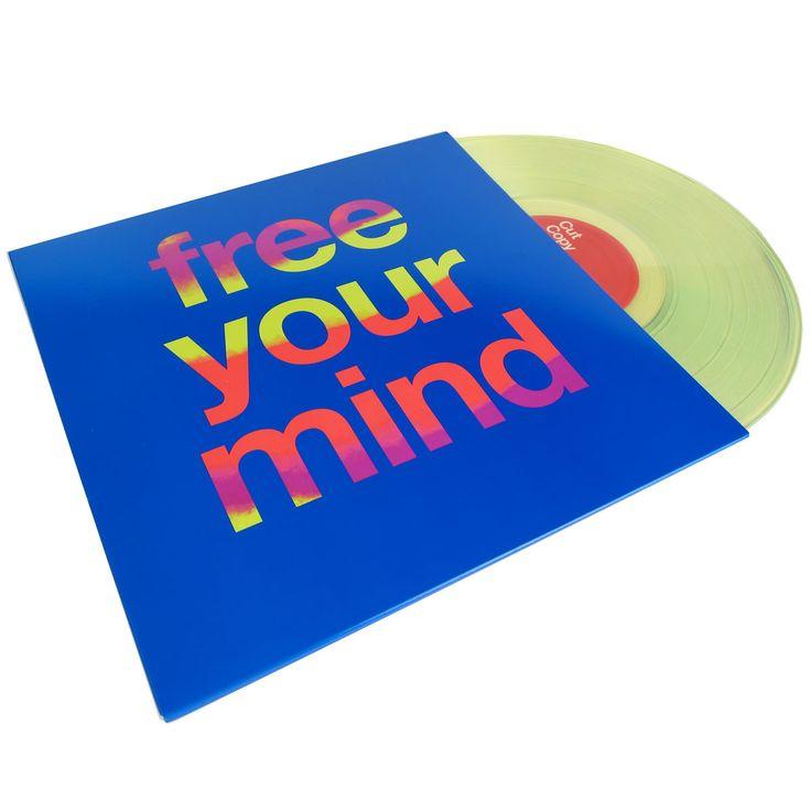 Cut Copy: Free Your Mind (Free MP3) 2LP