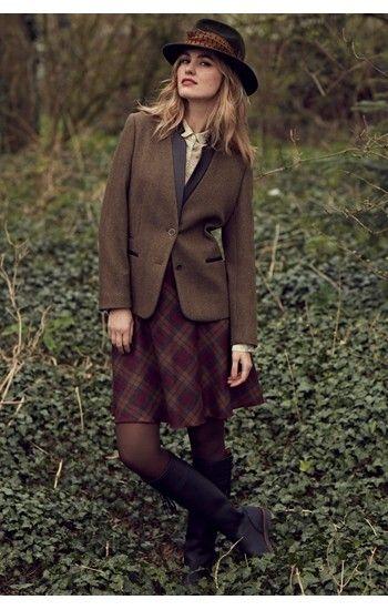 Really Wild Co. - Mid Length Skirt Cinnamon Brandy