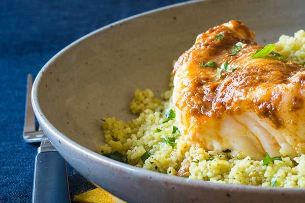 Moroccan fish with couscous – Recipes – Bite