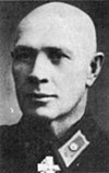 """Esko Riekki, Head of the Secret Police of Finland (Etsivä Keskuspoliisi = EK) from 1923-1948. Riekki was described as """"efficient, tireless and skilful but …. also ruthless in an indiscriminate way. … He was later considered to be guilty of many excesses during his career."""""""