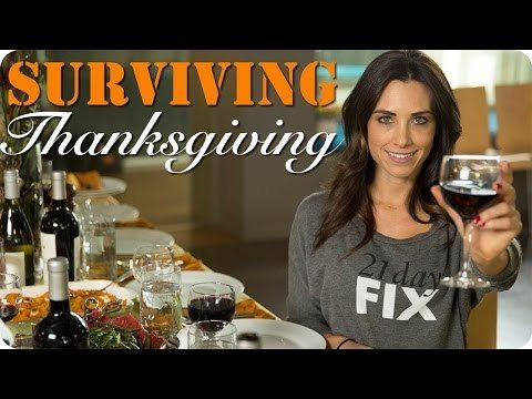 I'm going to show you how to survive the Thanksgiving feast without beating yourself up the next day. First, we'll see what a typical Thanksgiving plate lo