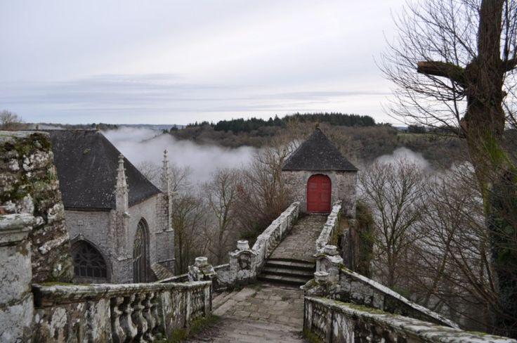 chapelle sainte barbe - le faouët -morbihan - bretagne france