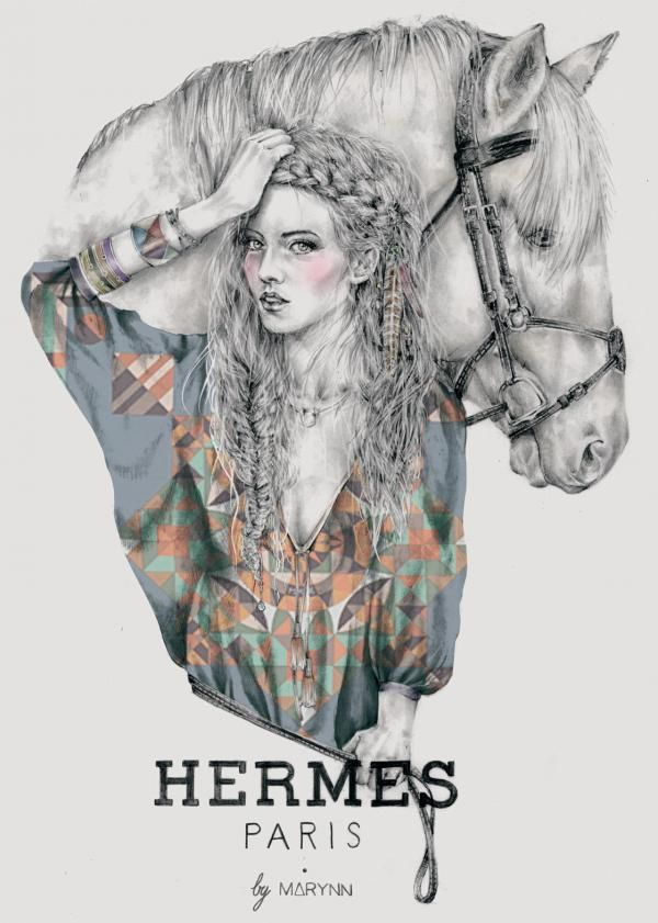 We find a special attraction to horses and horse themed accessories in today's fashion industry. Designers like Ralph Lauren, Calvin Klein and Hermes are well known for their creations with this subject. Hermes probably is the best known house that solely focuses on any type of design that involves horses. Year of the Horse, 2014