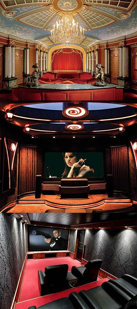 25 best ideas about home theatre on pinterest cinema for Luxury theatre