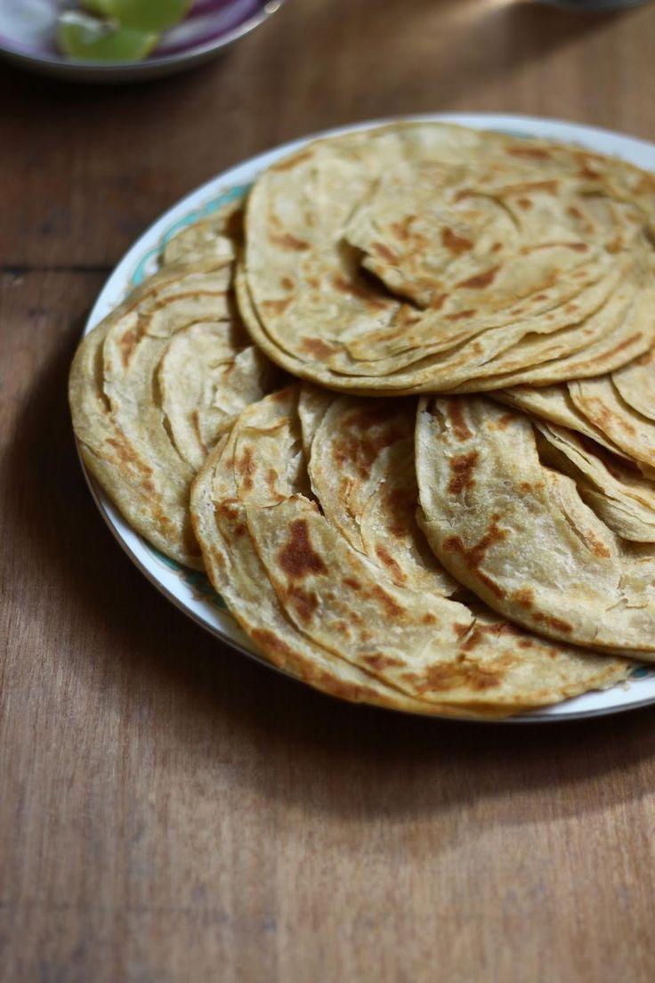 Kerala Parotta or Porotta Recipes, Food, Indian food recipes