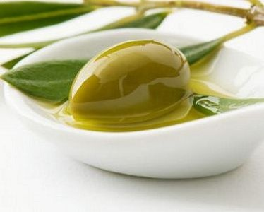 Food cooked with spanish olive oil