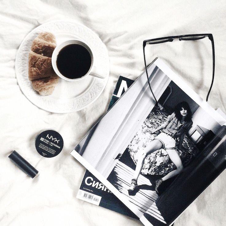 Morning coffee magazines vsco instagram anyaklyueva