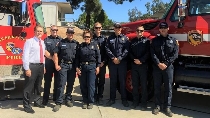County and Rural Fire Agencies Awarded $100,000 for Vital Fire Equipment | San Diego Gas & Electric - NewsCenter