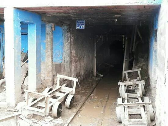 The mines of Potosi. Where so many children and men work till death - Bolivia '13