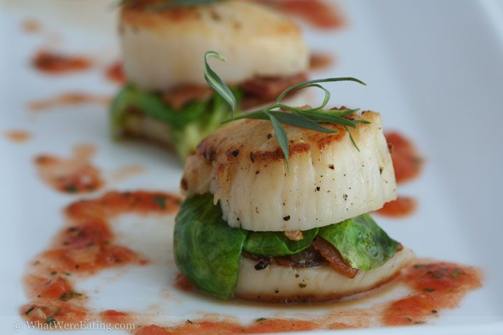 ... Best images about Scallops on Pinterest | Bacon, Scallops and Linguine