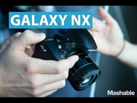Hands On With the Samsung Galaxy NX Camera - YouTube