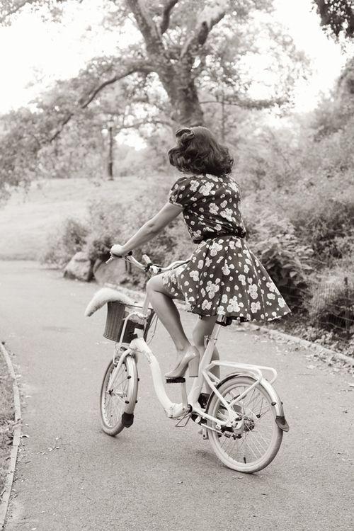 1940s bike ride.