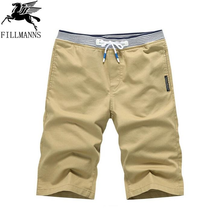 >> Click to Buy << FILLMANNS Men's Beach Short 2017 New Summer Casual Shorts Men Cotton Fashion Style Mens Shorts Bermuda khaki Shorts For Male #Affiliate