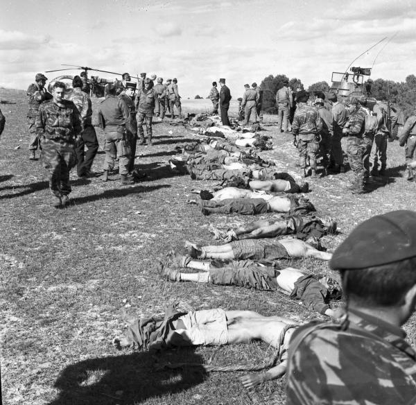 Résumé court de la guerre d'Algérie (1954 -1962)