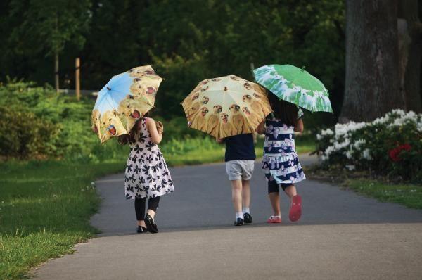 Cuki állatmintás gyerek esernyők. :)