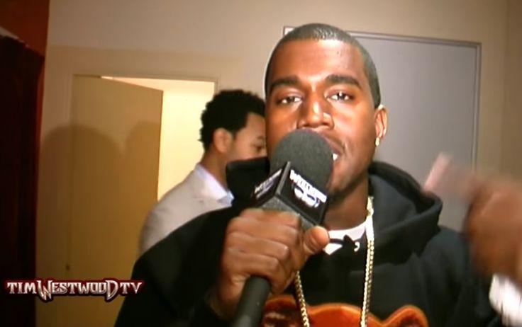 Video: Kanye West – Tim Westwood Freestyle (2004) | Nah Right