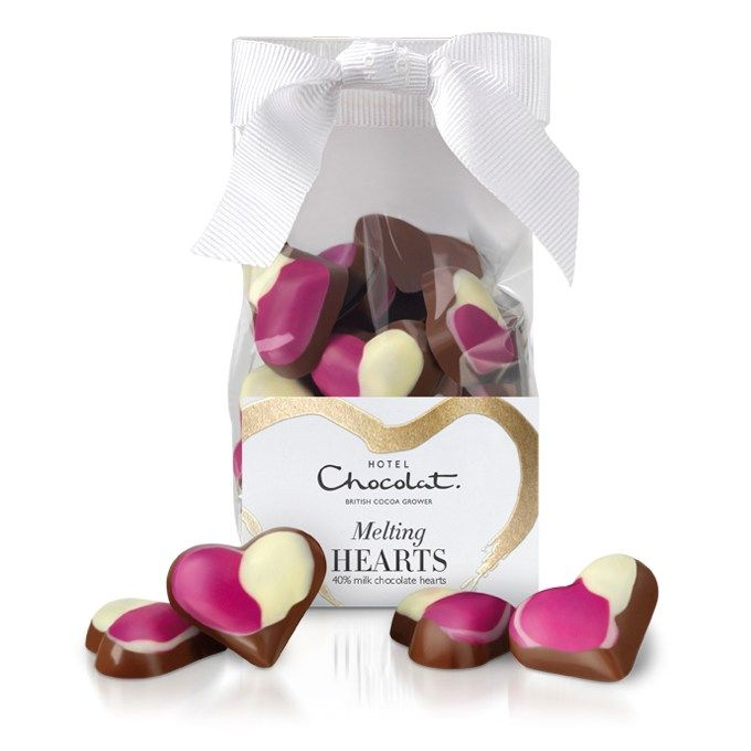Melting Hearts #chocolate #valentines #heart