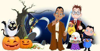 Halloween plaatjes, happy halloween, animatieplaatjes en animaties van Animatieplaatjes.nl