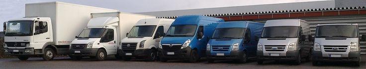 Palvelemme laajalla valikoimalla eri kokoisia paketti- ja kuorma-autoja.