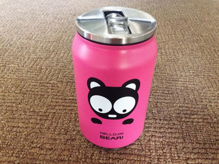 Thermos - Cute Stainless Steel Vacuum Cup (Pink) - Supplier.id