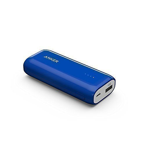 From 12.99:Anker Astro E1 5200mAh Ultra Compact Portable Charger External Battery Power Bank with PowerIQ Technology for iPhone iPad Samsung Nexus HTC and More (Blue)