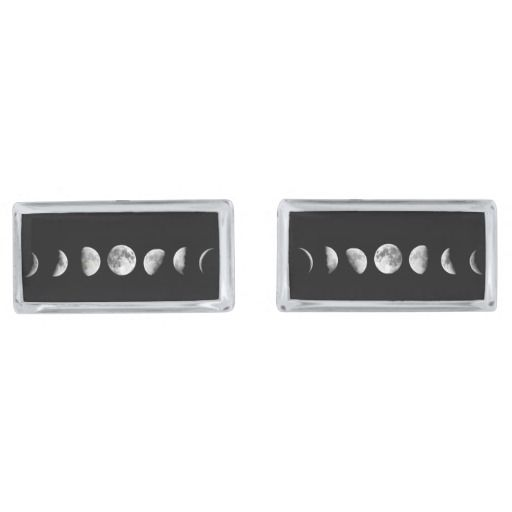 Cool Moon Phases Cufflinks