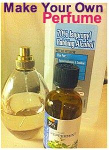 diy make your own perfume