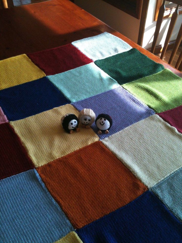 For cold days in the cart.... A granny square rug