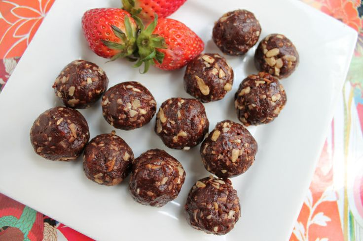 Nut free, no cook bliss balls.  The ultimate easy and healthy, lunch box snack.