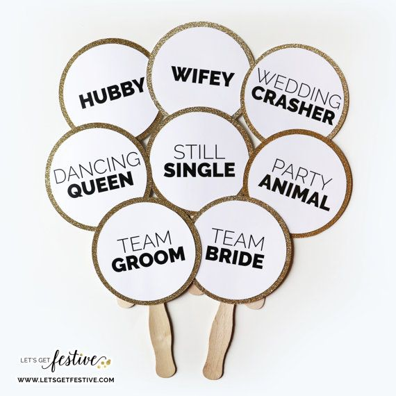 Wedding Photo Booth Props Set of 12 by LetsGetFestive on Etsy, $25.00