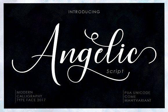 Angelic Script by Musafir LAB on @creativemarket