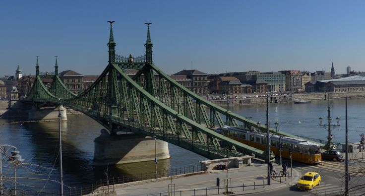 Liberty Bridge in Budapest (March 2014) - Photo taken by BradJill